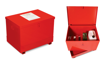 flammable liquid storage bin