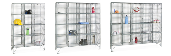 mesh locker range