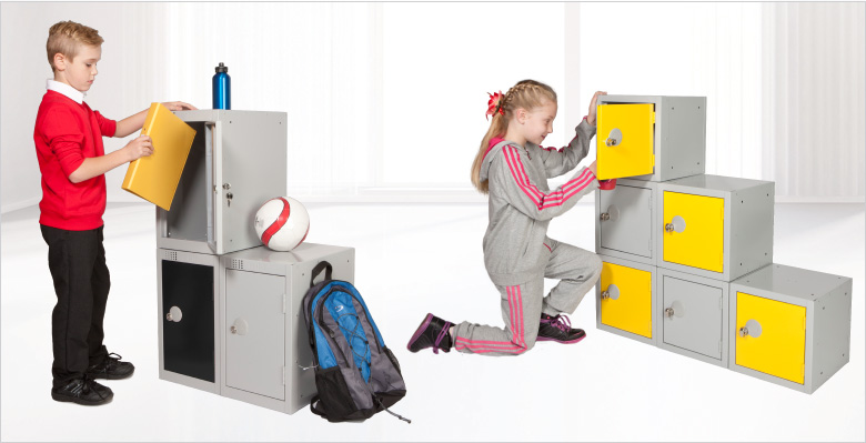 cube lockers for education